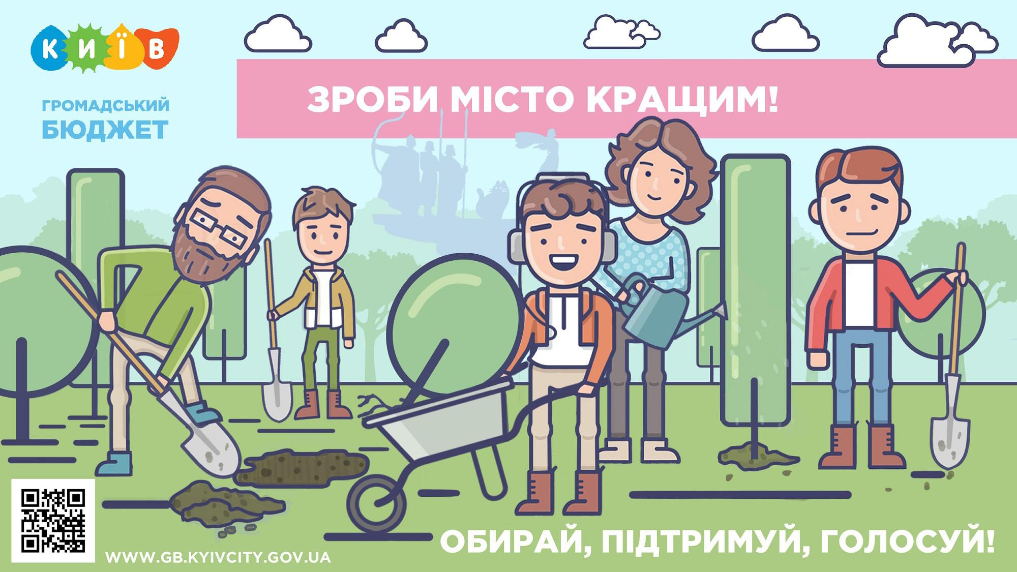Сюжет №5 (екологія) Громадський бюджет Києва